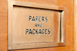 Papers and packages door